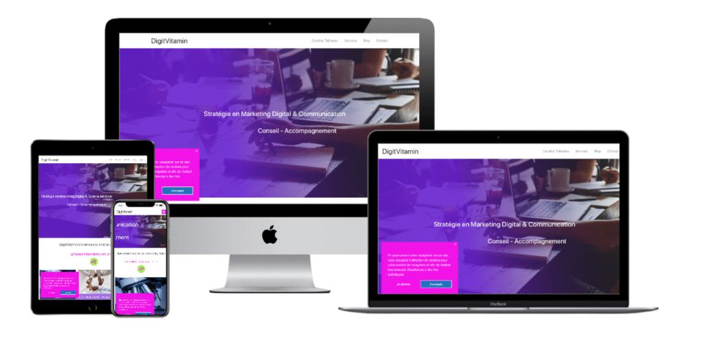 Multi Device Website Digitvitamin portfolio