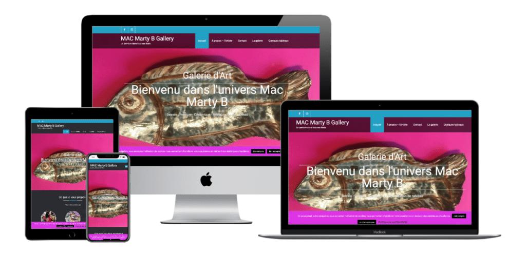 Multi Device Website MacMarty portfolio